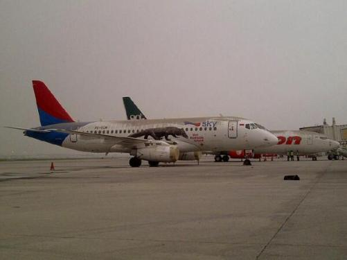 Keadaan di Bandara Juanda - Surabaya