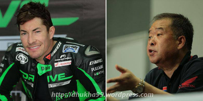 Nicky Hayden vs Nakamoto