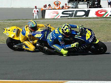 Rossi vs Max Biaggi