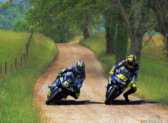 Rossi vs Sete Gibernau