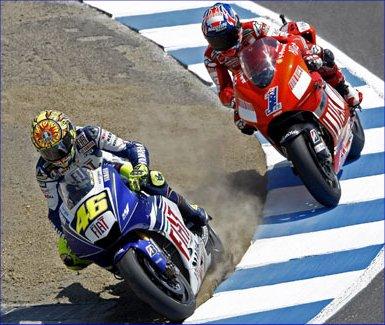 Rossi vs Stoner