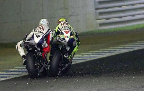 Rossi vs Lorenzo