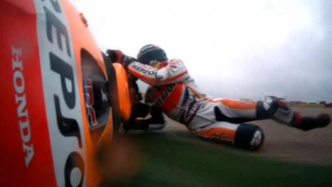 Marquez Crash-Aragon