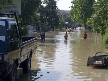 Banjir di Desa Klampok