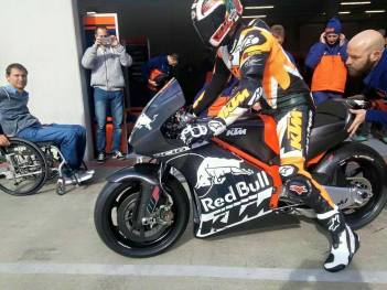 KTM-GP17 Test