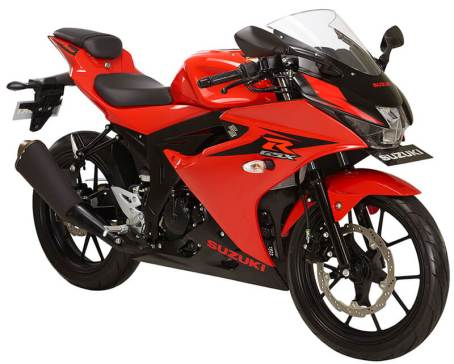 Suzuki GSX R150 - stronger red titan black
